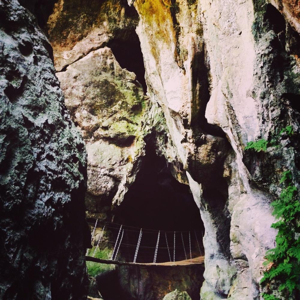 cave bridge